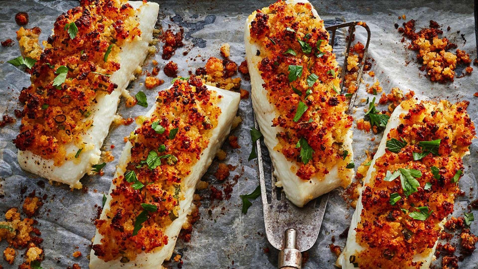 Parmesan Baked Fish