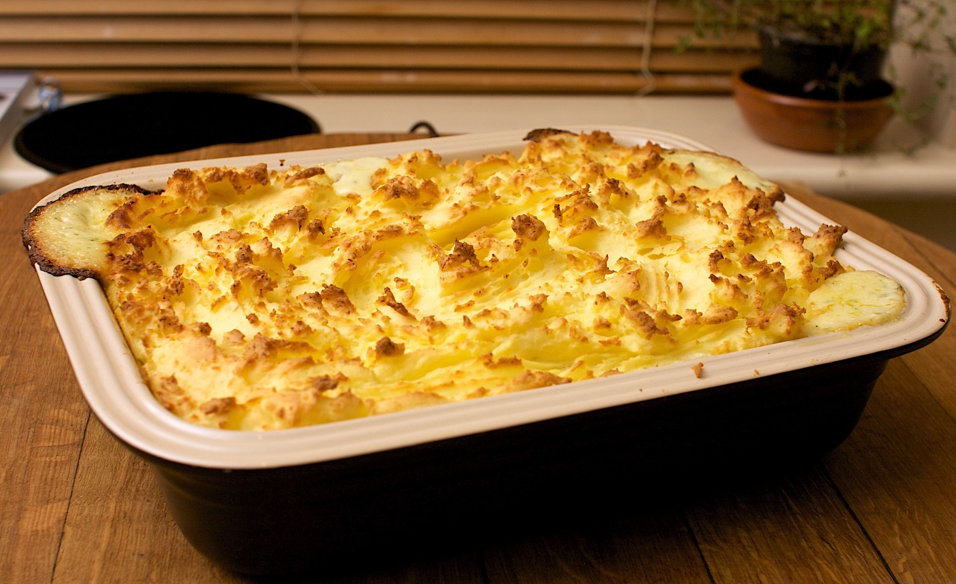 Fish Pie  in Four Steps