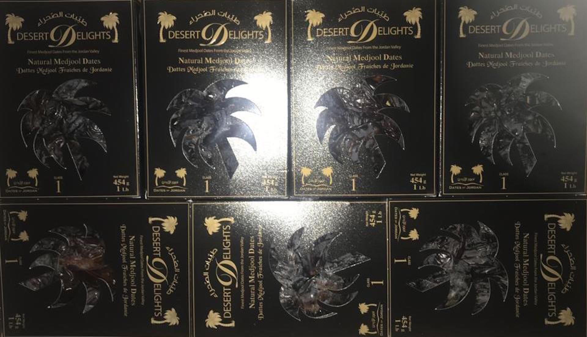 Desert Delights Dates in stock (0.454g) per box